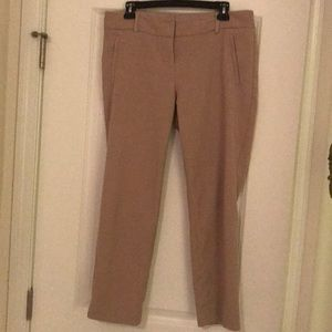 Tan colored, ankle dress pants - size 10